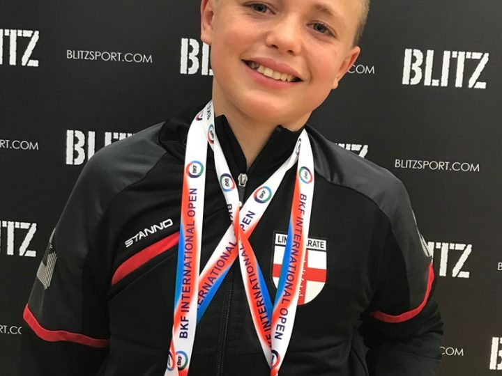 Maddox Wins Double Gold and Double Silver