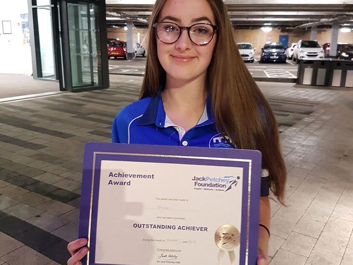 Outstanding Achievement recognised in Synchronised Swimming